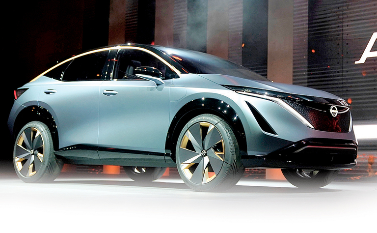 Second Nissan EV? You guessed it — a crossover