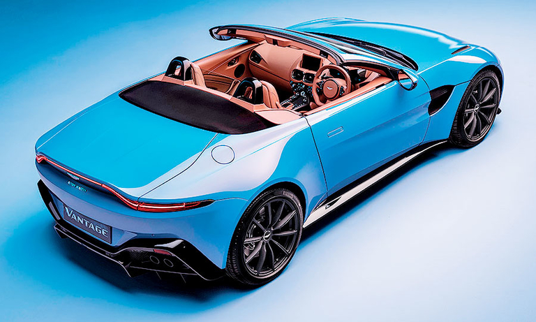 Aston Martin adds a convertible Vantage