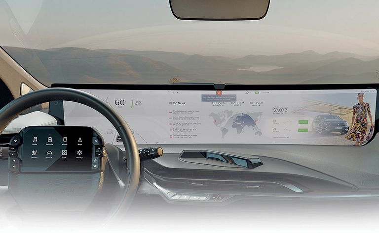 In-vehicle displays getting bigger and fancier. The challenge is making them better