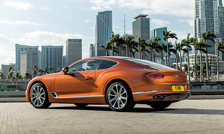 Bentley preps V-8 Continental GT