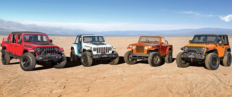 Jeep brings taste of the electric to Moab safari