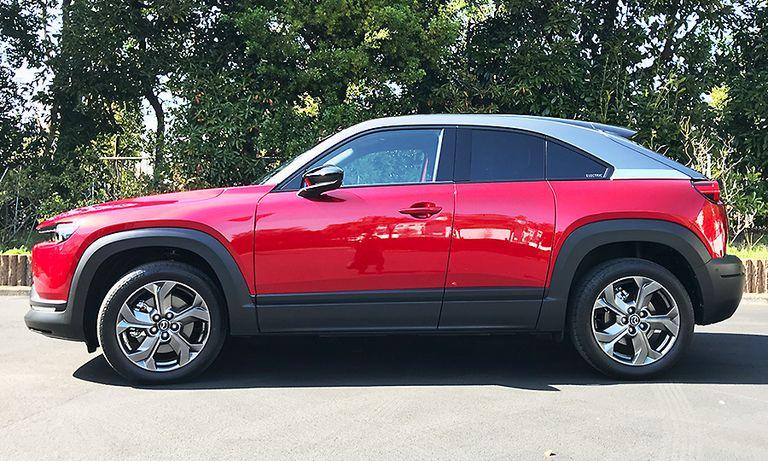 Mazda's first EV: A design in compromise