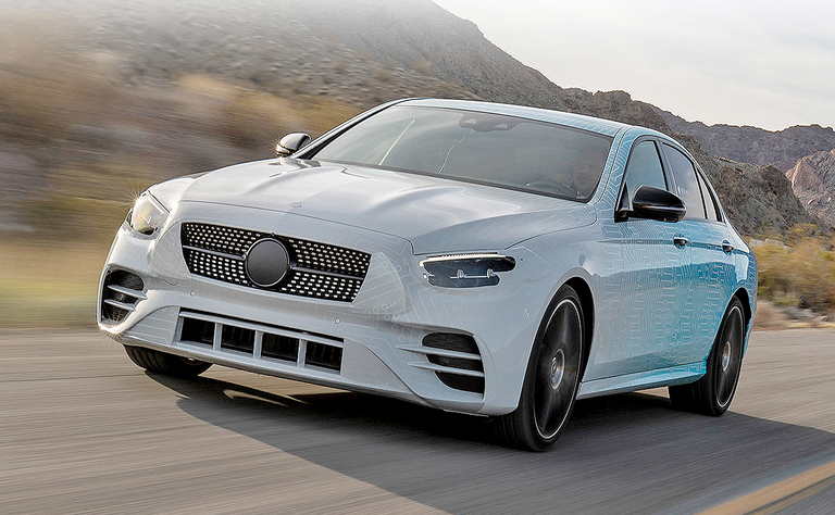 Mercedes-Benz E class boasts new engines, interior upgrade