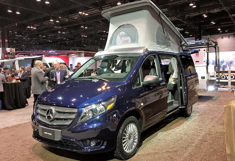 All play, no work for new Mercedes-Benz camper van