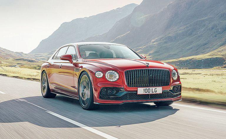Bentley offers V-8 option for '21 Flying Spur