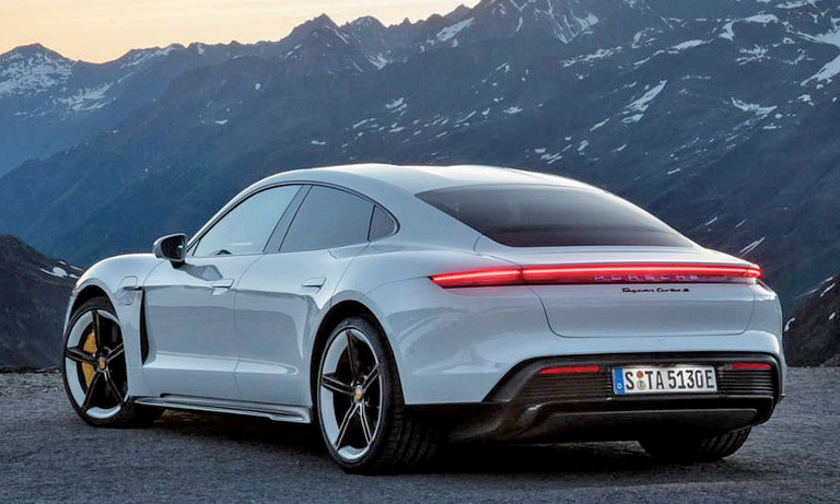 Porsche preps 2wd Taycan