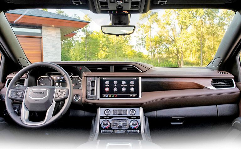 Yukon steps up Denali's interior luxe