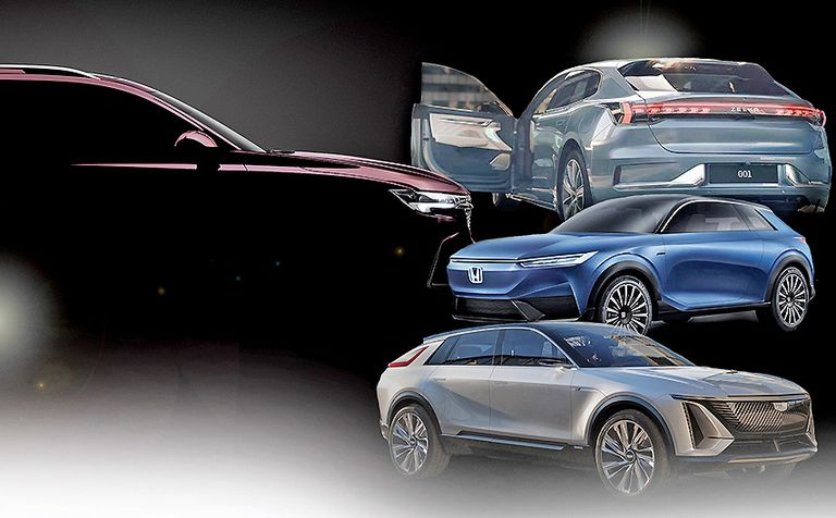 Shanghai auto show preview: Electric crossovers on display