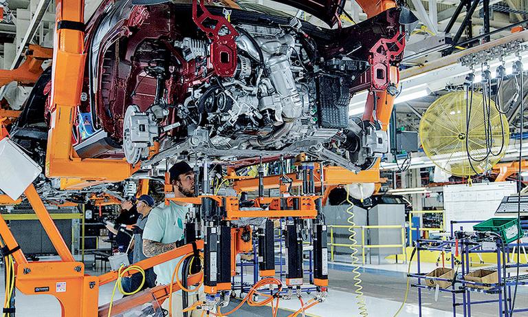 FCA trims output at 4 plants after backlog