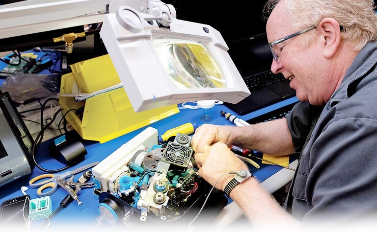 Auto parts repurposed to build up health arsenal
