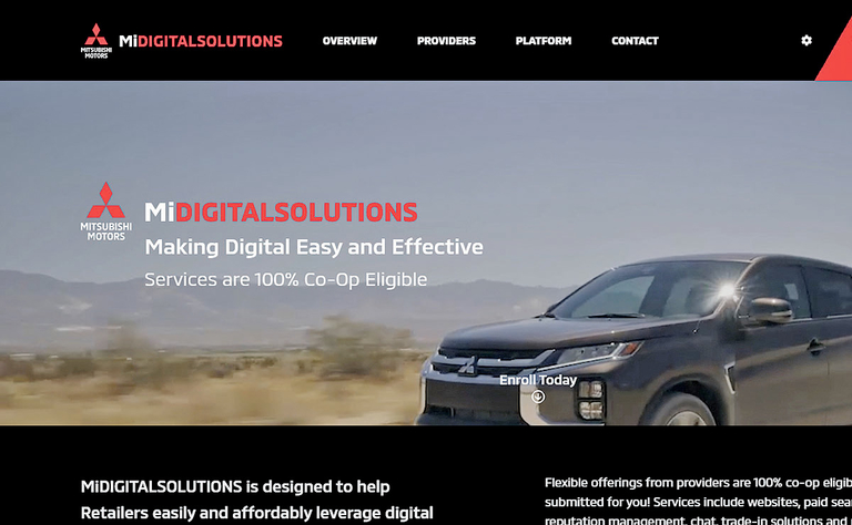 Mitsubishi offers dealers choice of new digital tools