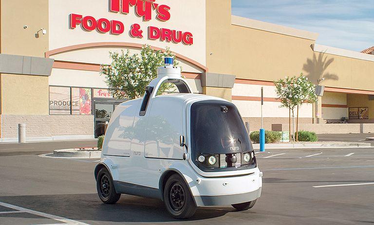 Self-driving startup tackles food deserts