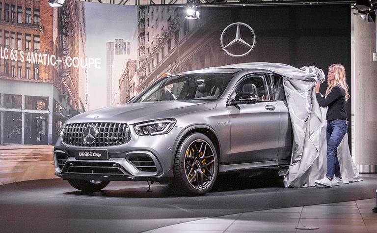 NY Mercedes GLS debut