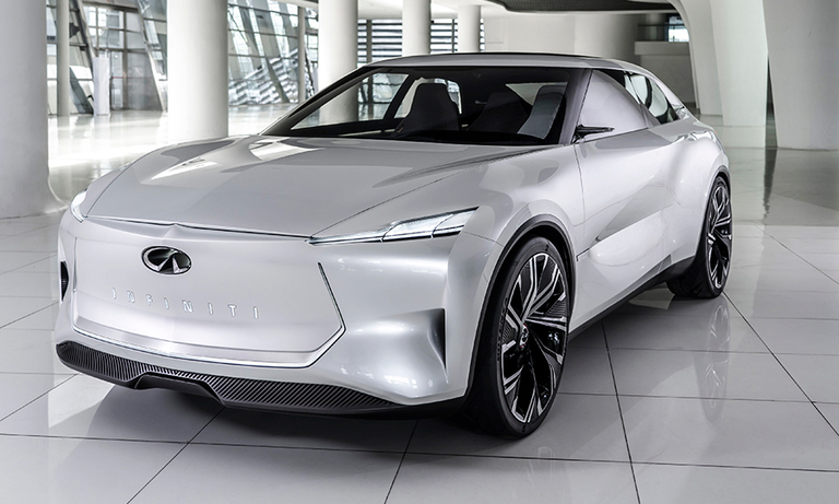 Infiniti tips its hand on new product wave