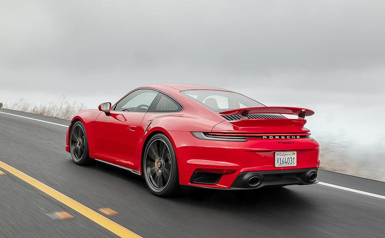 2021 Porsche 911 Turbo S: More tricks and kicks