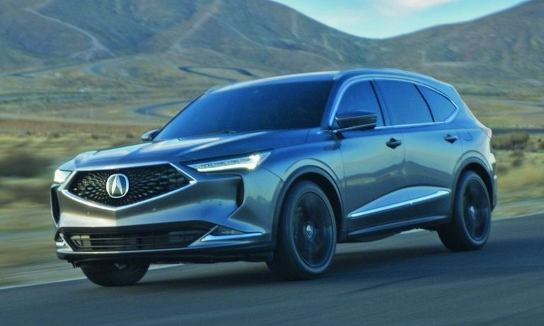 The redesigned MDX crossover launched this month.