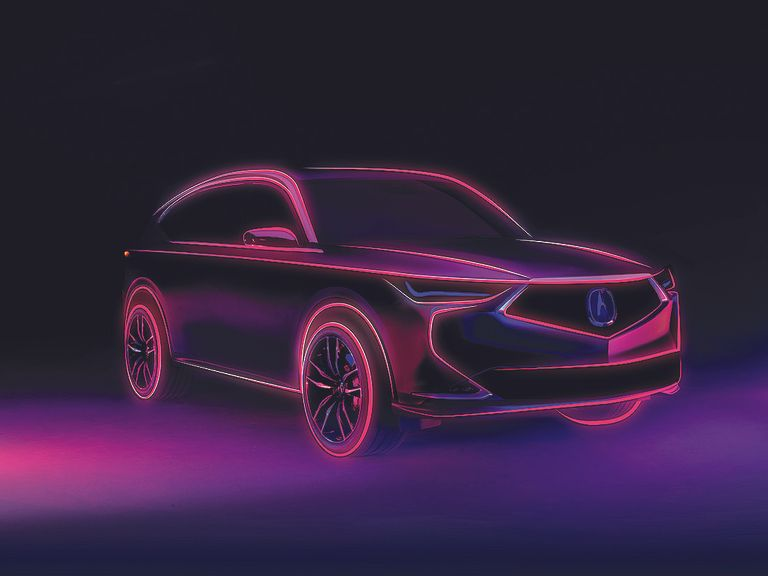 Acura previews next-gen MDX crossover