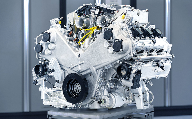 Aston Martin previews milestone V-6 engine with British pedigree