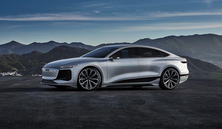 Audi readies more E-trons with sedan concept