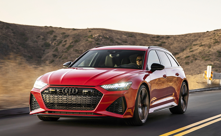 2020 Audi RS 6 Avant: Hot rod under wagon skin