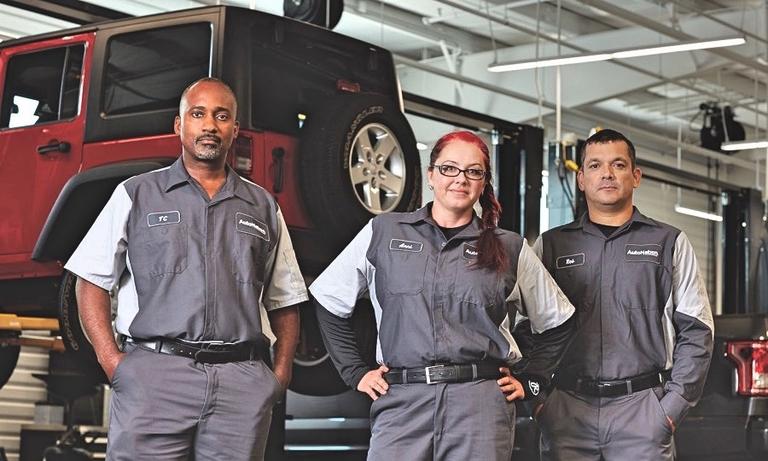 AutoNation mines a scarce resource: service technicians