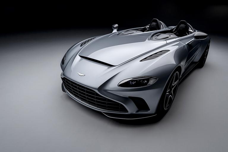 Aston Martin V12 Speedster joins parade of exotic roadsters