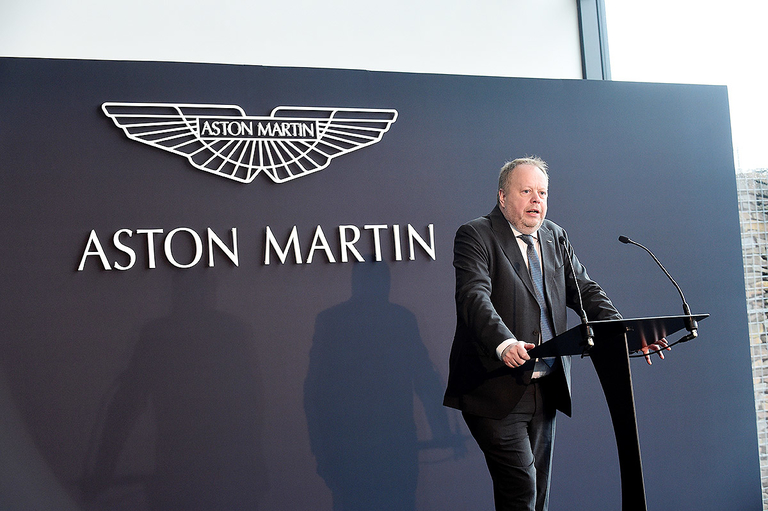 Aston Martin not actively pursuing new investors, CEO says