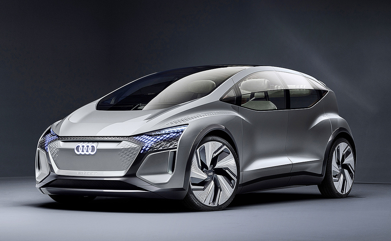 Audi's EV for the big city that drives itself