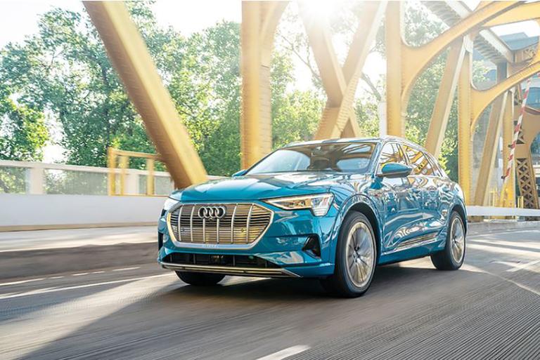 Audi pauses e-tron production at Belgian plant
