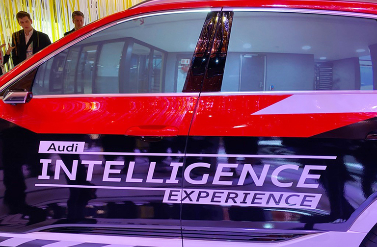Audi shows 3D head-up display, Intelligent Experience concepts