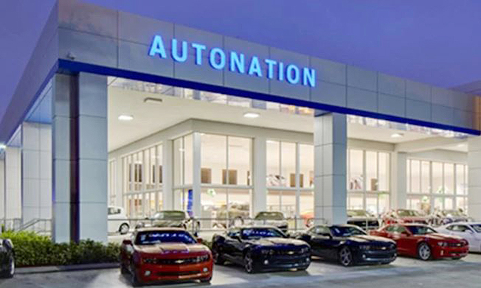 AutoNation's gross profit per new vehicle jumped 50% to $2,775 in the fourth quarter.