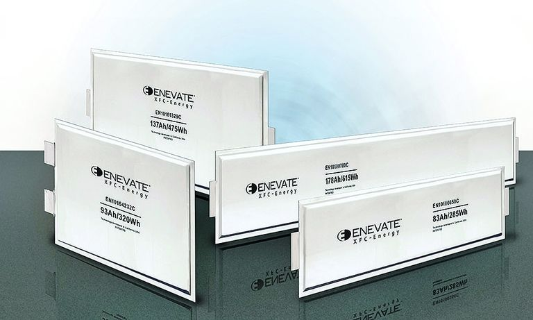 Enevate's silicon-dominant anode and multilayer design packs more energy into a battery cell.