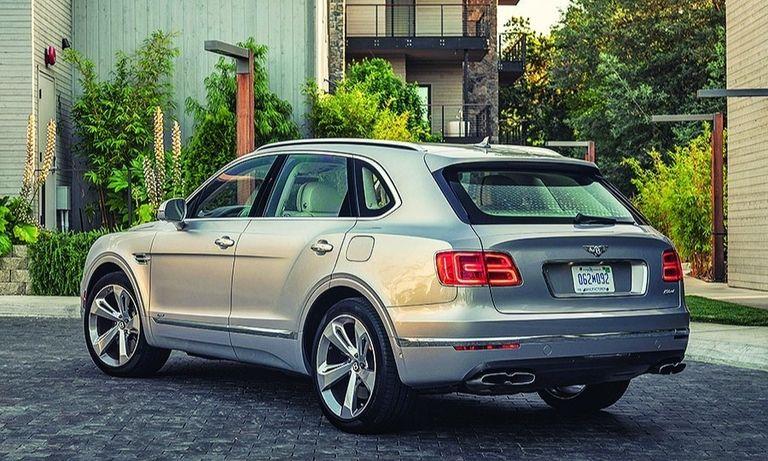 Bentayga Hybrid SUV: Bentley's only plug-in