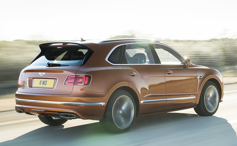 Bentley revs up Bentayga with Speed variant