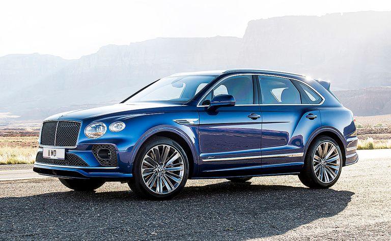 Bentley adds 620-hp Speed variant to Bentayga lineup