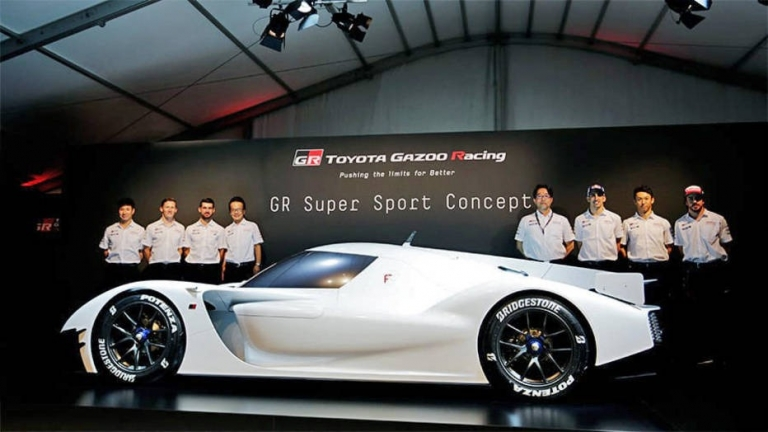 Toyota's 'Super Sports Car': Will it be for the road?
