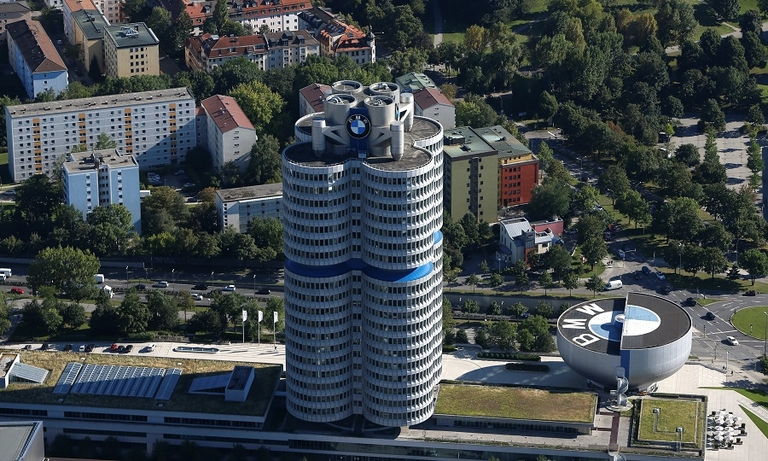 Show events may be held in the Olympic Park next to BMW's global headquarters in Munich.