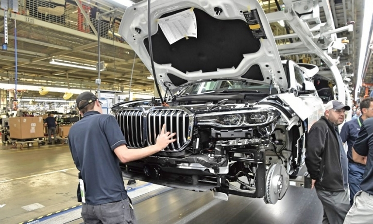 BMW's U.S. plant sets record for output in 2019