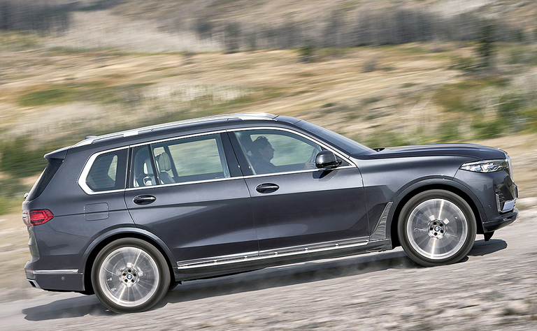 LUXURY: BMW keeps Mercedes at bay