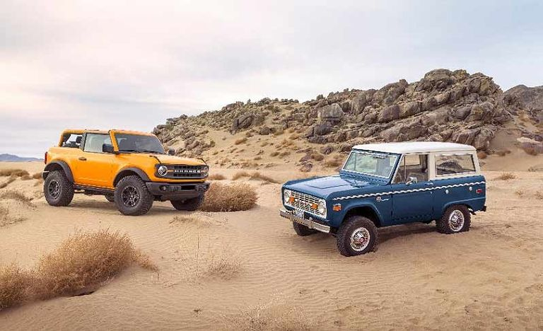 Storyboards, ATVs, virtual reality and life-size foam: How Ford forged modern Bronco