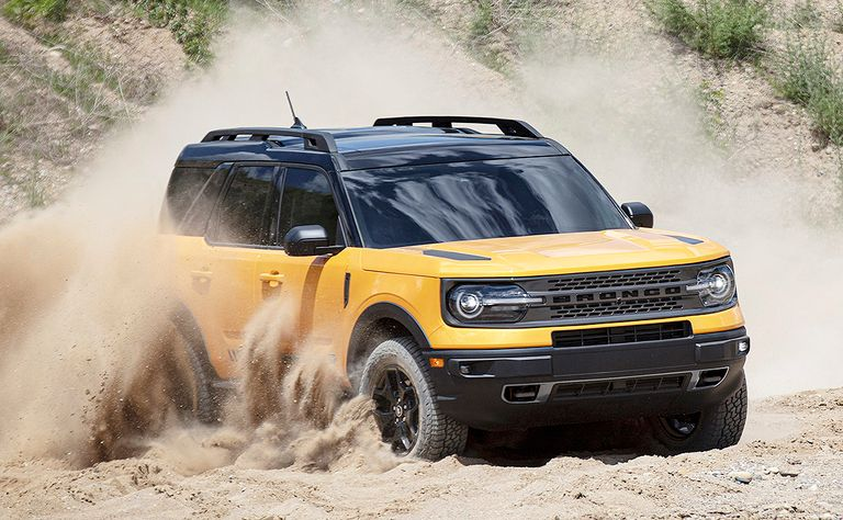 2021 Ford Bronco Sport: Dandy foal with solid chops on, off road