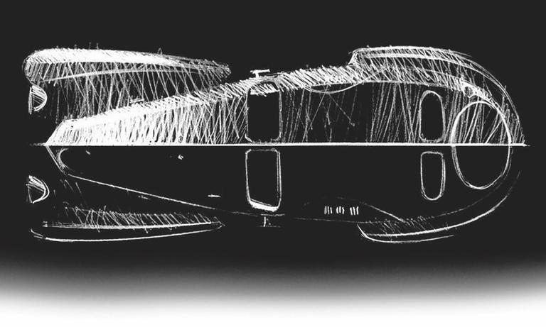 Piech hyper-car inspired by Atlantic?