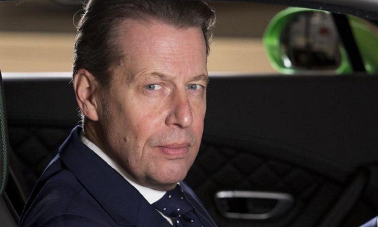 Bentley design chief Stefan Sielaff