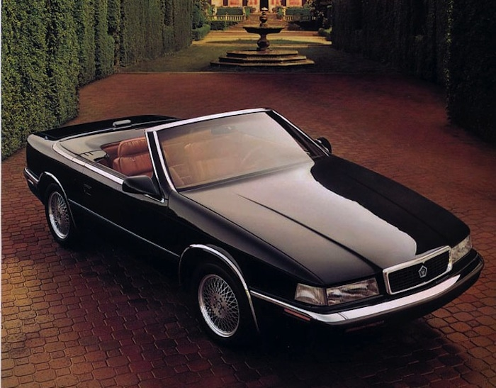 Chrysler, Maserati end venture, in 1989, that produced the TC