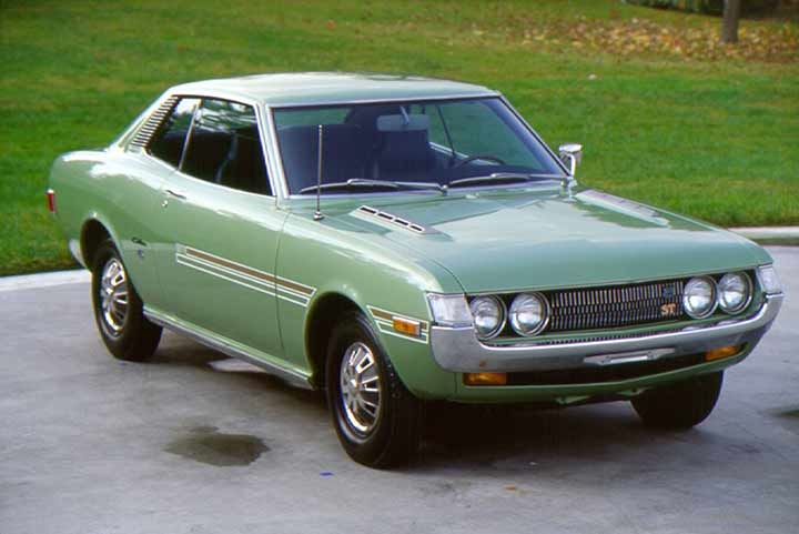 Toyota releases the Celica in Japan