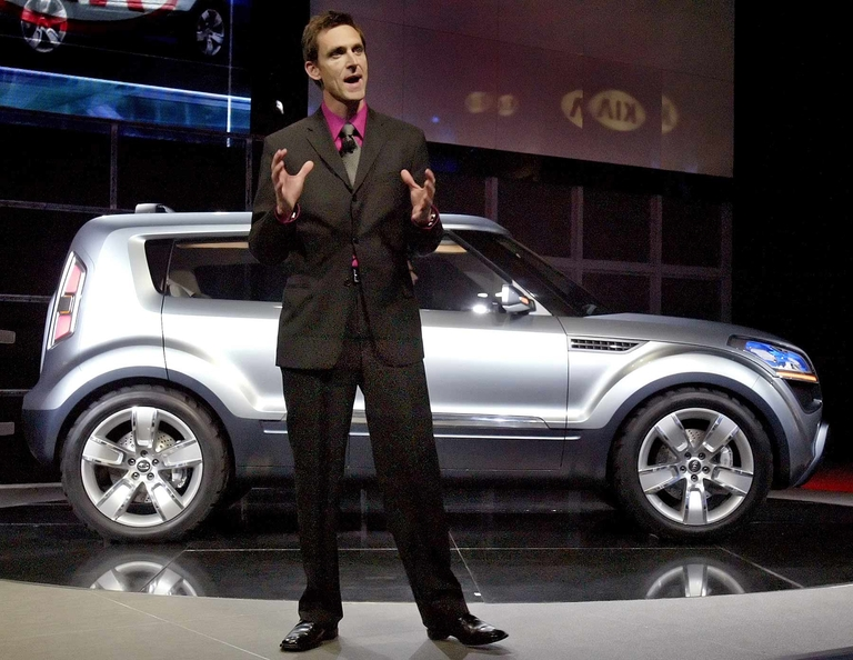 Kia's quirky Soul bows as concept in 2006
