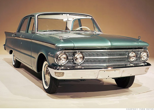 Lincoln-Mercury's Comet takes off in 1960