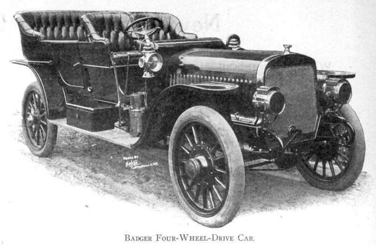 Four-wheel drive takes foothold in 1908