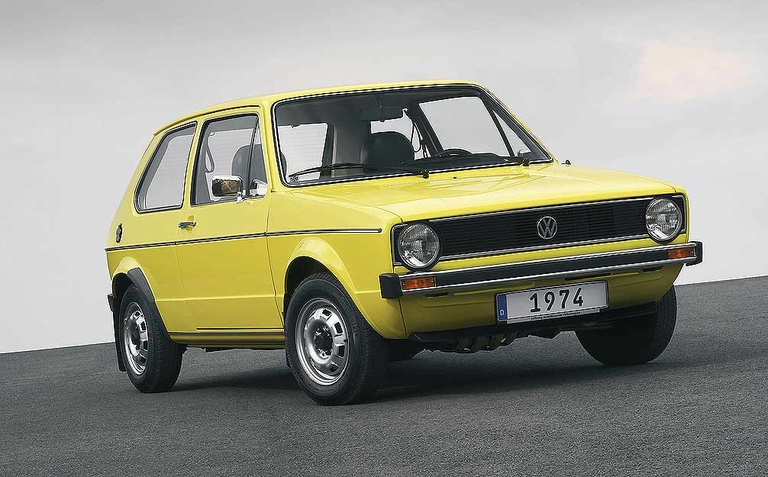 VW Golf is hatched in 1974