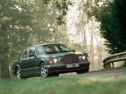A new Bentley flagship sedan, the Arnage, arrives in 1998